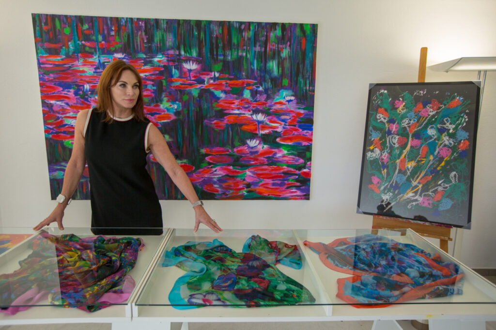 Porte aperte – studio d'arte con Cornelia Hagmann